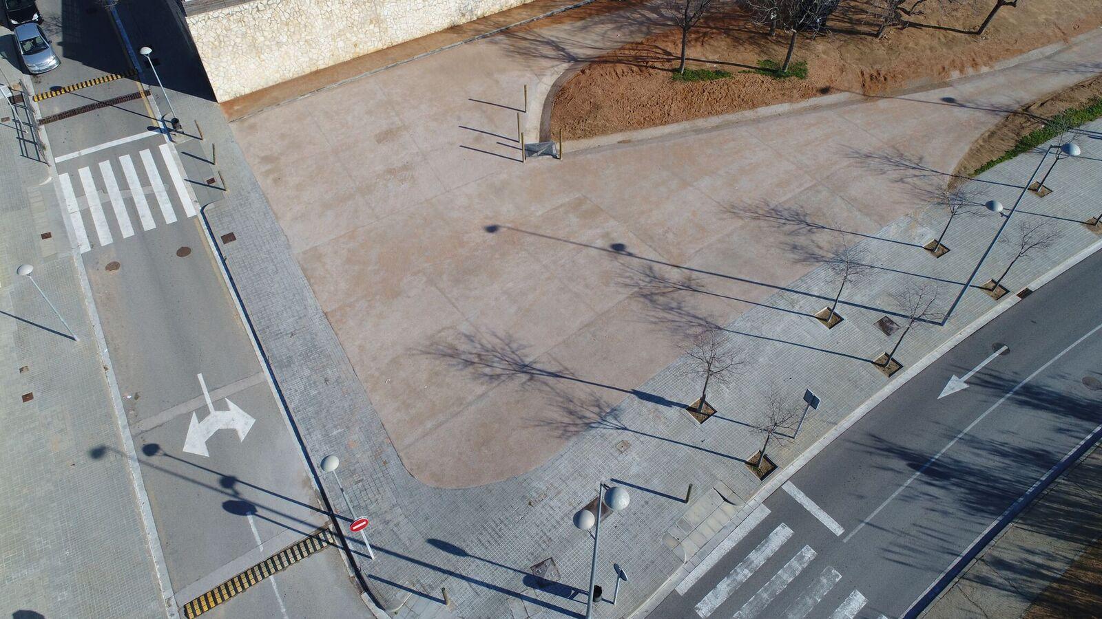 Parking Ardenya - Vista des de dron 1