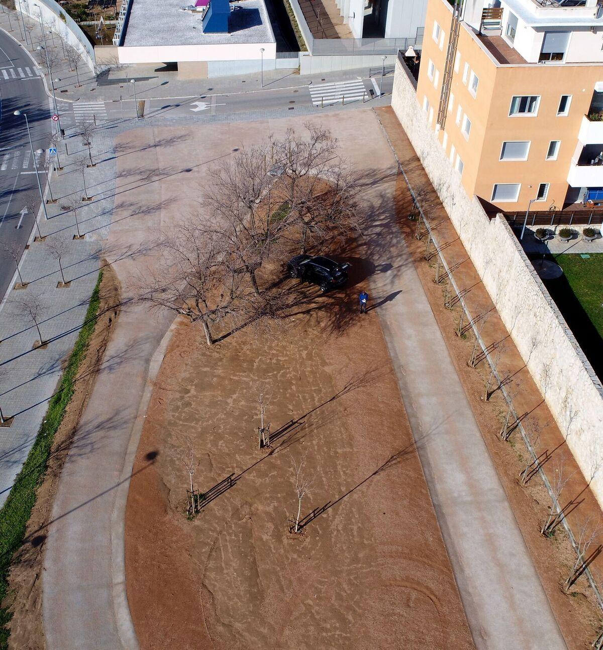 Parking Ardenya - Vista des de dron 3