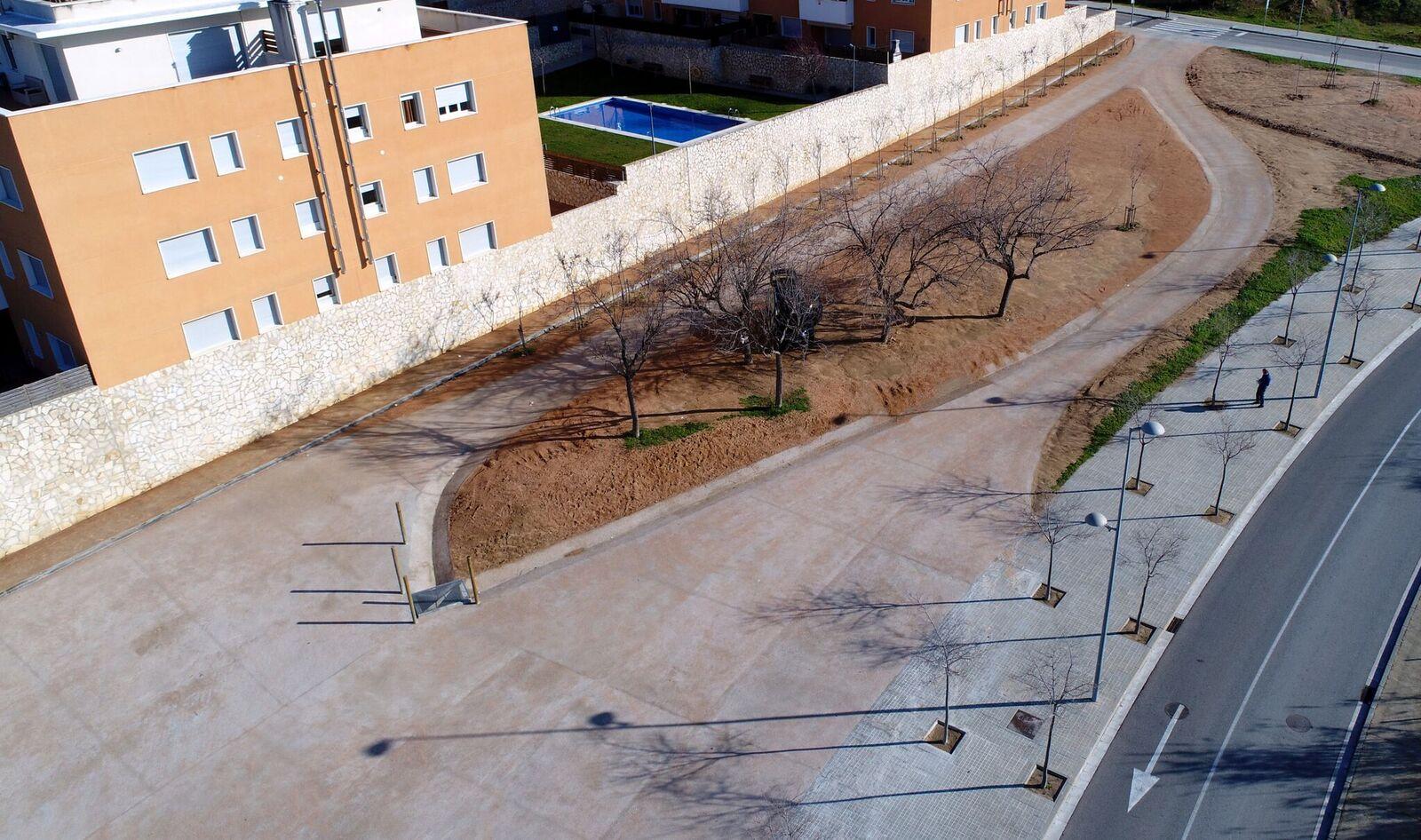 Parking Ardenya - Vista des de dron 2