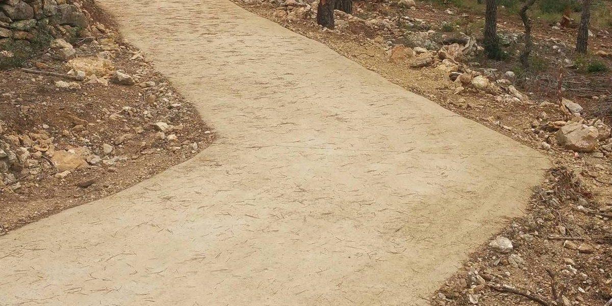 Paviment terra estabilitzada SAULO SOLID 01